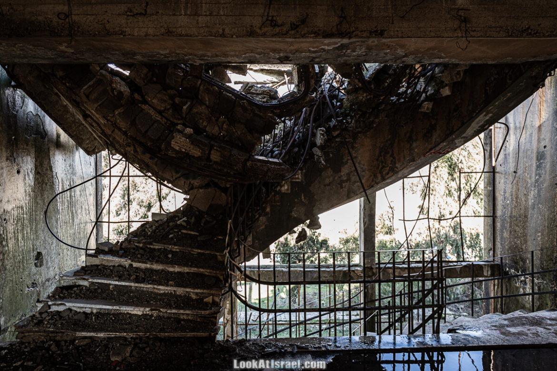 Здание сирийского командования на Голанских высотах